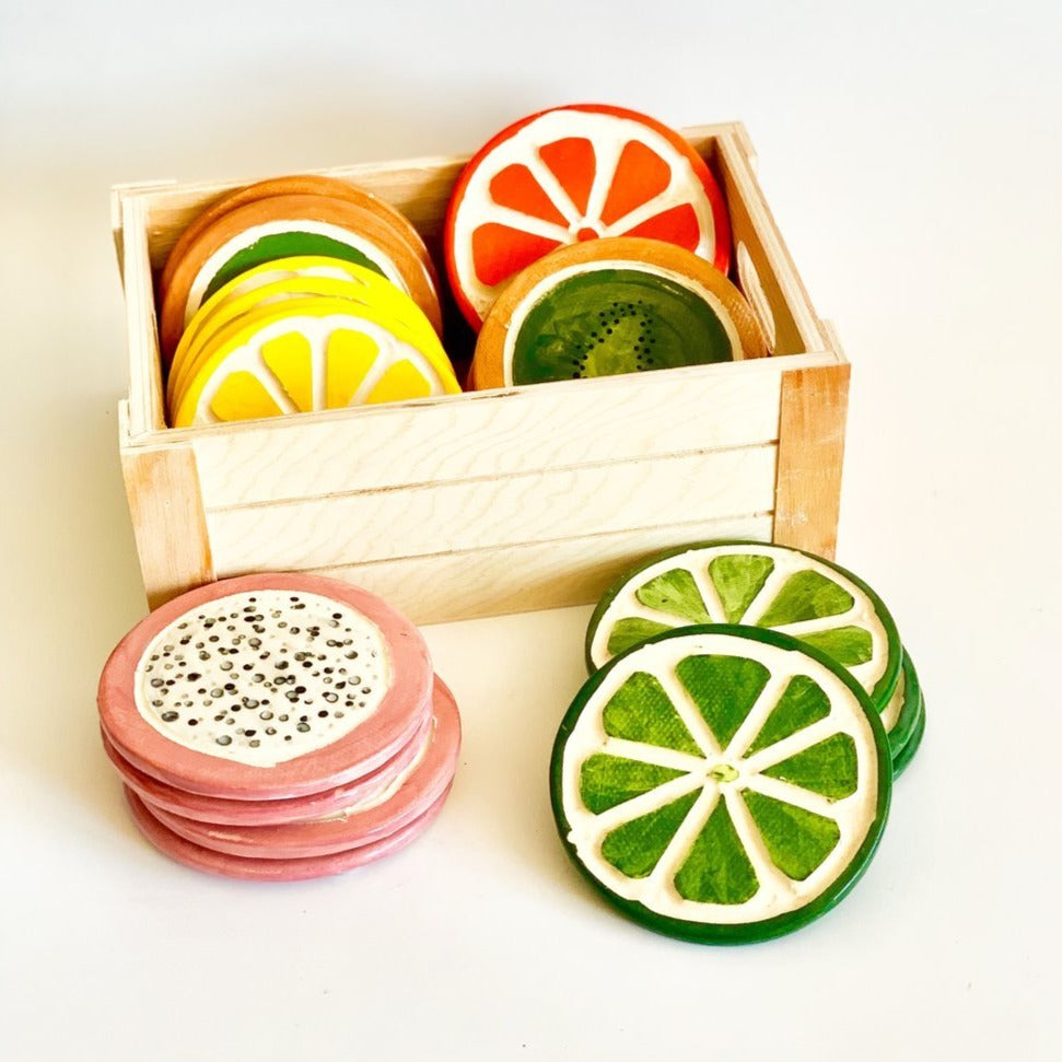 Dragonfruit Coasters