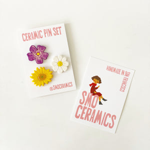 Limited Edition Flower Pin Pack