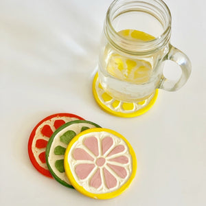 Citrus Fruit Coaster Mix