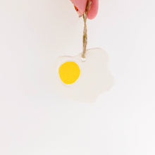 Load image into Gallery viewer, Fried Egg Ornament