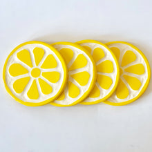 Load image into Gallery viewer, Lemon Coasters