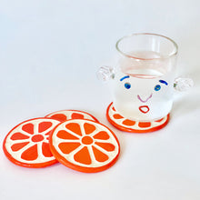 Load image into Gallery viewer, Orange Coasters