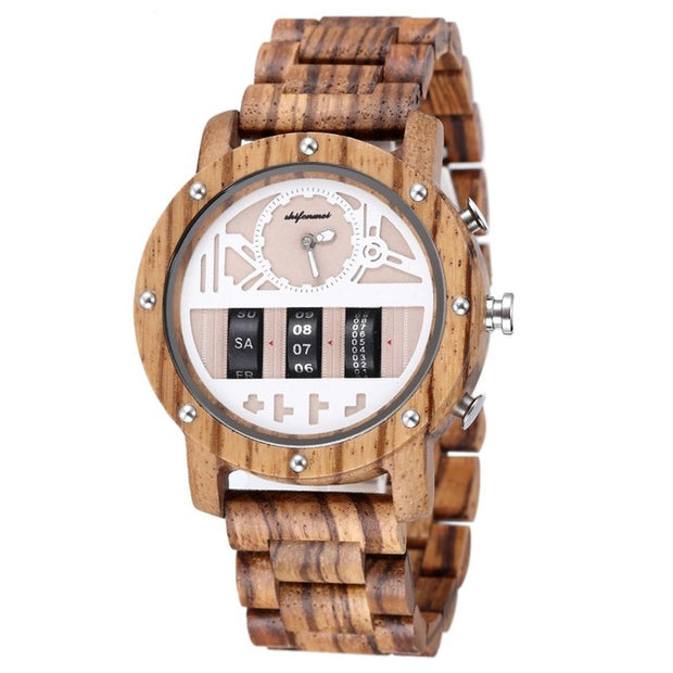 Wooden Roller Watch