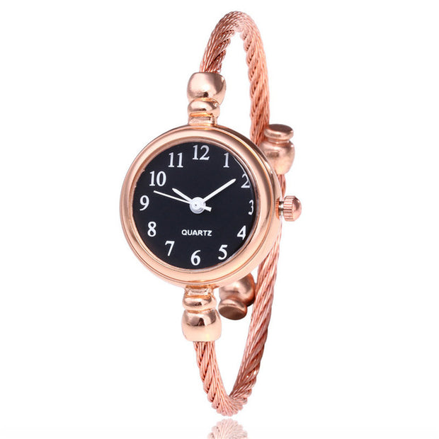 Women Small Gold Bangle Bracelet Luxury Watches Stainless Steel Ladies Quartz Wristwatch Brand Casual Women Dress Colck