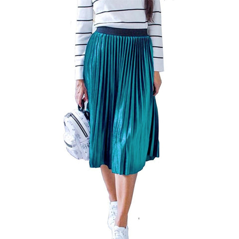 Ladies Vintage Women Velvet Skirt High