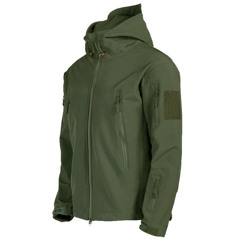 Tactical Shark Skin Soft Shell Jacket Men Military Windproof Waterproof
