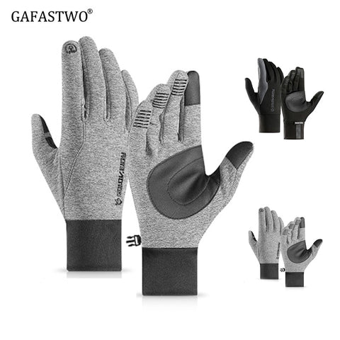 Winter Warm Touch Screen Windproof Non-Slip Waterproof Men'S Gloves Outdoor Cycling Ski Ladies Fashion Gloves