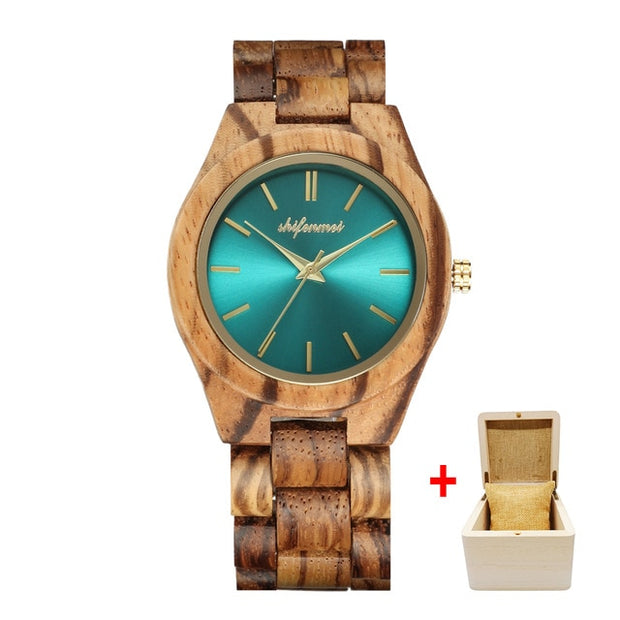 Shifenmei Watches Women Fashion Watch 2020 Wood Watch Quartz Ladies Clock Top Luxury Brand Wooden Watch Female Relogio Feminino