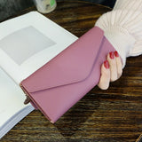 Baellerry Wallet Women Leather Luxury Card Holder Clutch Casual Women Wallets