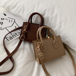 Fashion Leather Women Mini Crossbody Handbags
