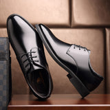 2020 Man Cow Leather Shoes Rubber Sole EXTRA Size 47 Man Office Business Dress Leather Flats Man Split Leather Wedding Shoes