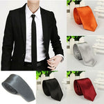 5 Colors 1pc Casual Slim Plain Mens Solid Skinny Neck