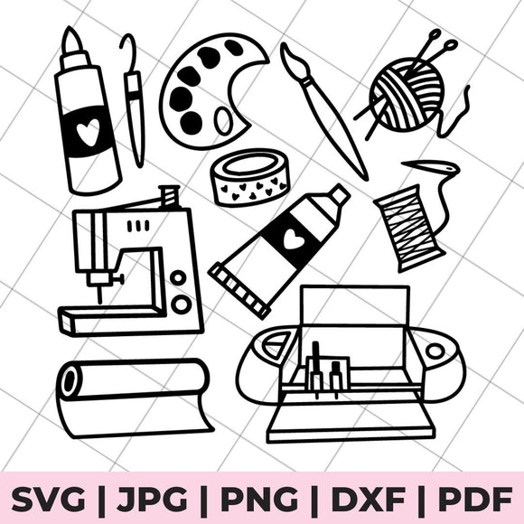 craft icon svg file