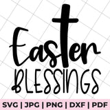 easter blessings svg file