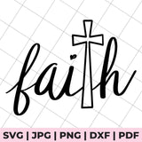 faith with cross svg file