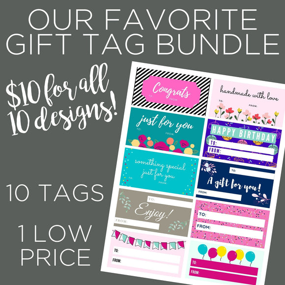 gift tag bundle
