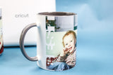 photo mug with best dad
