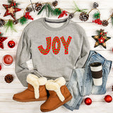 joy holiday sweatshirt