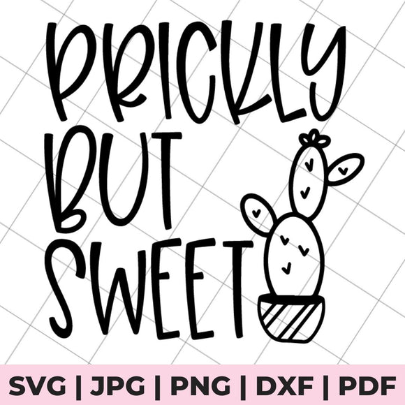 prickly cut sweet svg file