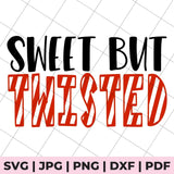 sweet but twisted svg file