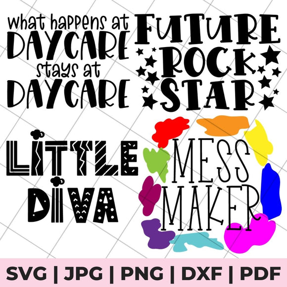 toddler shirt svg bundle
