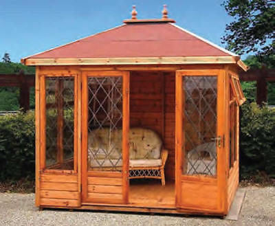 The Tudor Summerhouse from the Malvern Collection various sizes deal / cedar