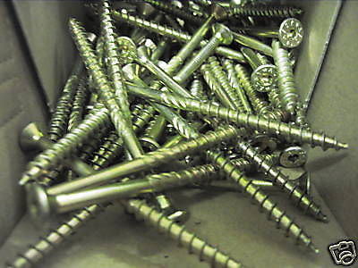 Ten 5 x 100/52 masonry screws,wall anchor frame fixing