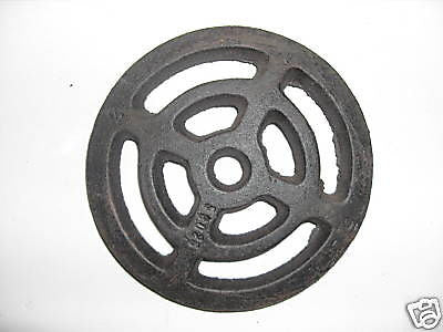 "5"" round cast iron external gully trap drain cover"