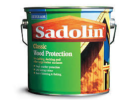 Sadolin Classic  Woodstain 1 litre Jacobean Walnut