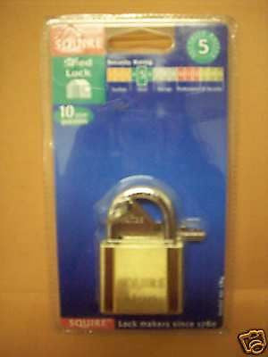 Top Quality Squire Padlock, Shed Security Rating 5 LN4