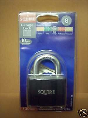 Top Quality Squire Padlock, steel protective cover 39