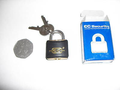 HIGH QUALITY EC SECURITY 25MM WEATHER RESISTANT PADLOCK