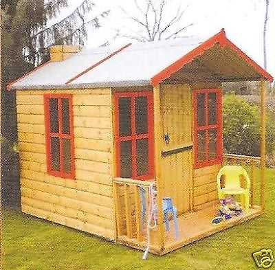 New Superden Play house 6' x 4 Delivered & Erected