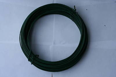 Fence Green Line wire 5m  roll - 3.15/2.24mm chainlink