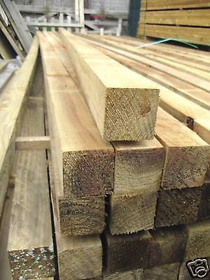 TEN 2.4m x 50mm x 50mm fence post framing shed bearers