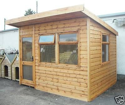 14' x 8' Insulated Garden Office Delivered & Erected