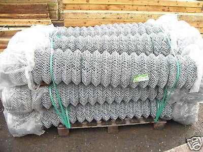 1.8m 25m roll Galvanised chainlink mesh fence
