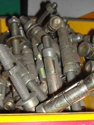 Projecting bolt 10 x 16 x 70mm anchor fixings concrete