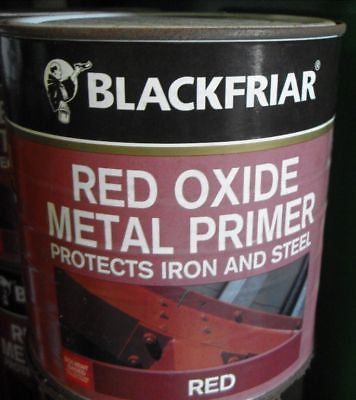 1L Blackfriar Red Oxide protect paint protect stain