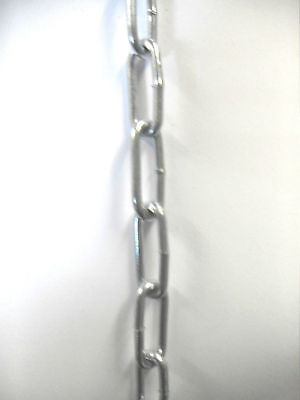 19 X 2.5 mm Zinc plated Chain sold by the metre