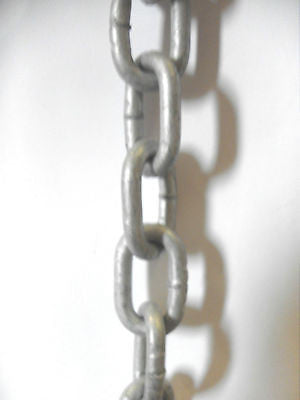21 X 5 mm Galvanised Chain sold by the metre