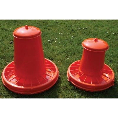 SUTTON POULTRY FEEDER 7KG CAPACITY ADJUSTABLE FEEDING