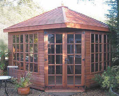 10'x10' Cedar Martley Summerhouse Delivered & Erected