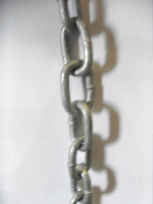 19 X 4 mm Galvanised Chain sold by the metre