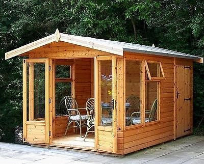 The Sanctuary Summerhouse & Store Delivered & Erected