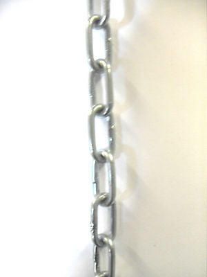 14 x 2.5 mm Zinc Plated Chain sold by the metre