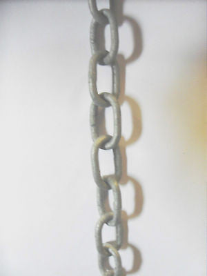 16 X 3 mm Galvanised Chain sold by the metre