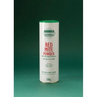 RED MITE POWDER 500g SLOW RELEASE LASTING FOR POULTRY