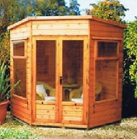 6'8 x 6'8 Nordic Summerhouse in Deal Delivered & Erected
