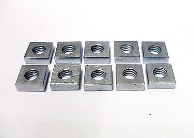 10 number M6 square nuts zinc plated gutter roofing